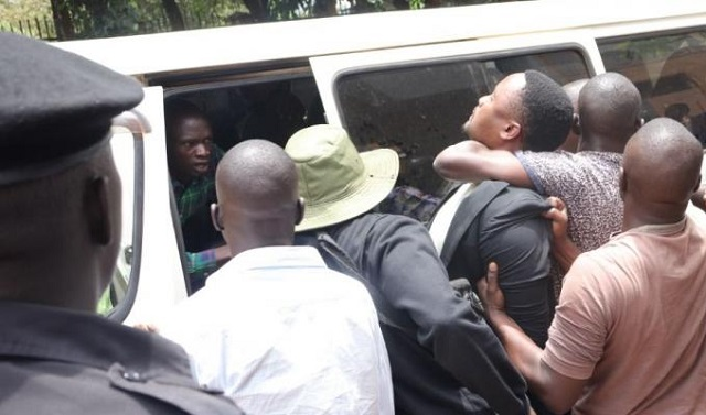 People power activist Mubiru james brutally arrested by security operatives during the kaweesi murder trials