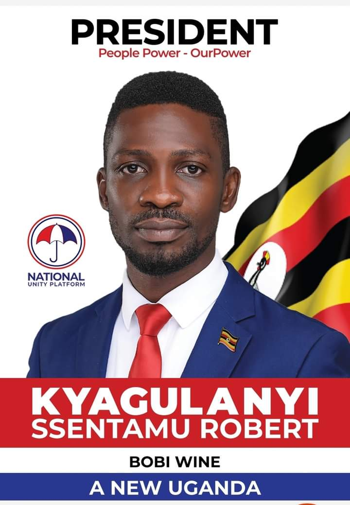 NUP unveils official Bobi Wine 2021 presidential campaign poster – Ekyooto  Uganda